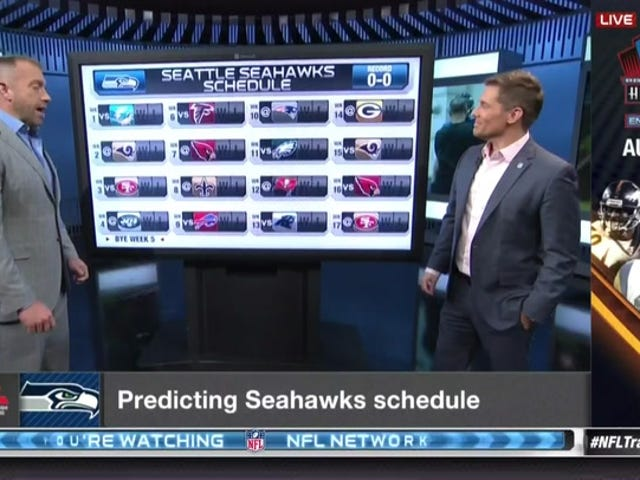 NFL Network Spends Entire Segment Predicting The Wrong Seattle Seahawks Schedule [Update]