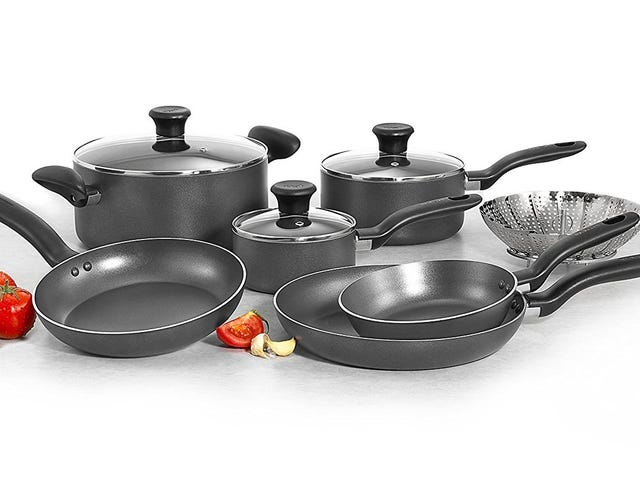 Fry Up Some Savings With This $40 T-fal Cookware Set