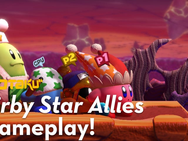 It's Your Last Chance to Save 20% On Kirby Star Allies with Amazon Prime