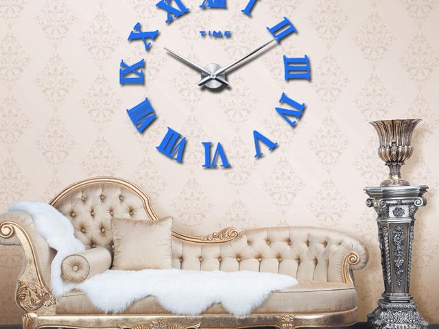 Modern Quartz Clocks Living Room Wall Clock