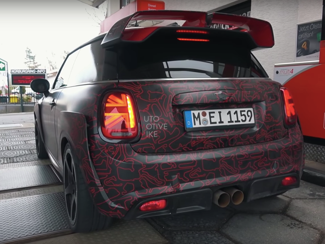 The 2020 Mini John Cooper Works GP Will Keep Some of the Wild Concept Looks