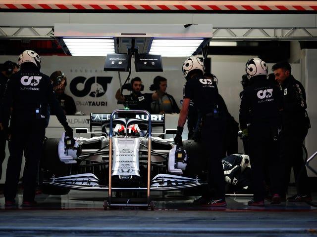 Kos Penutupan F1 Setidaknya Dua Pasukan Peluru Berpeluh