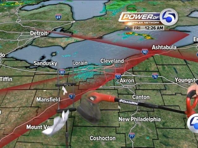 Cleveland Weatherman pourrait bien le perdre, vous les gars