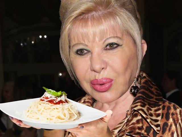 Ivana Trump and an Italian Millionaire Would Like to Sell You Diet Pasta