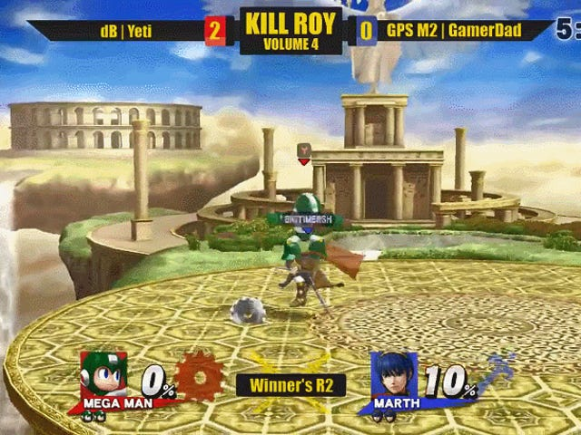 Super Smash Bros. untuk Wii U Competitor Lands Sick Combo Just Before Ultimate Drops