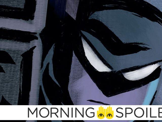 マット・リーブスがバットマンをからかう、初日