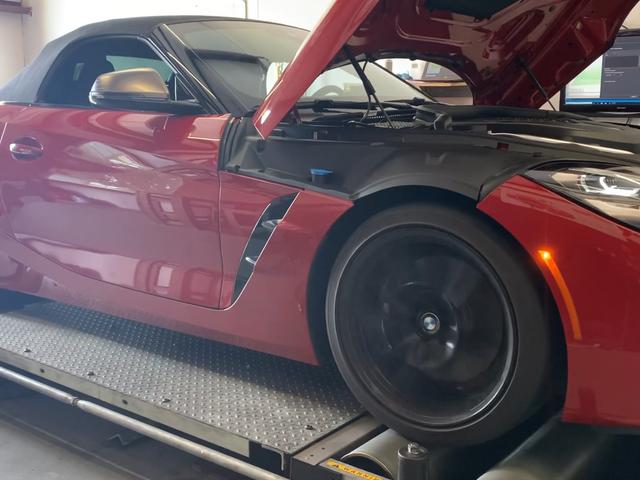 Испытание Dyno показывает, что BMW Z4 2020 года обладает гораздо большим крутящим моментом, чем BMW