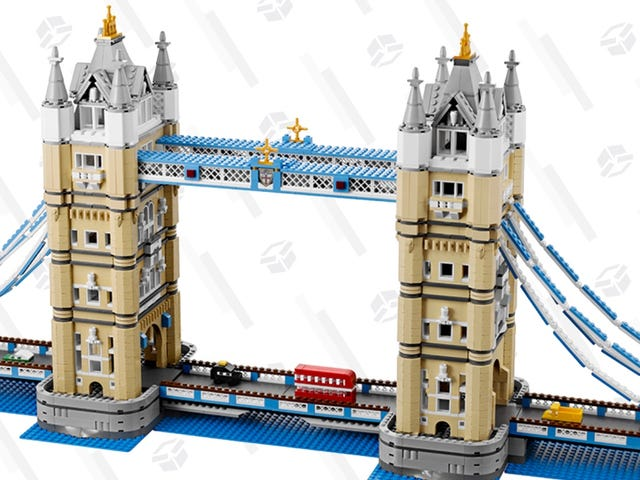 No Need to Queue For This 4,295-Piece London Tower Bridge Discount