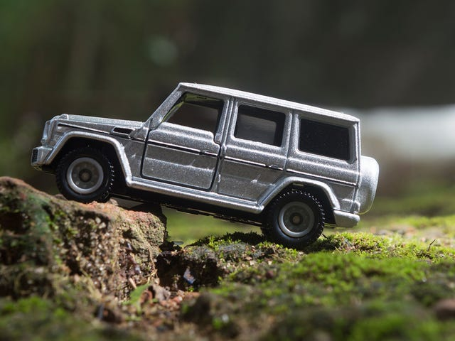 Sunday Showcase - Tomica Mercedes G Class