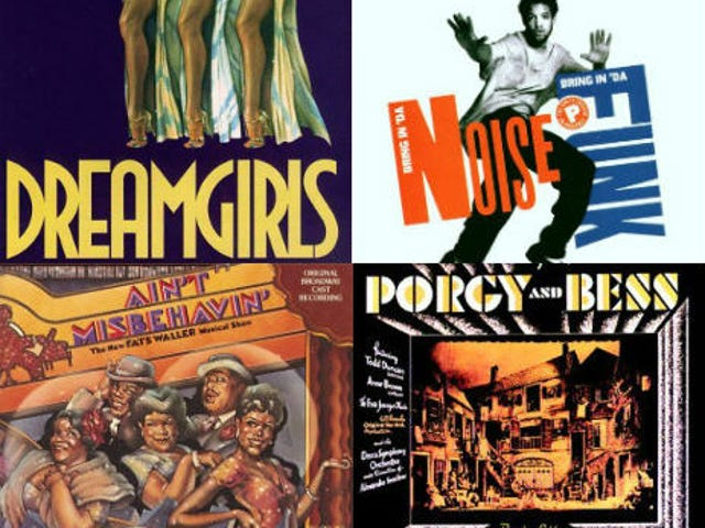 20 Black Musicals, der levede op Broadway