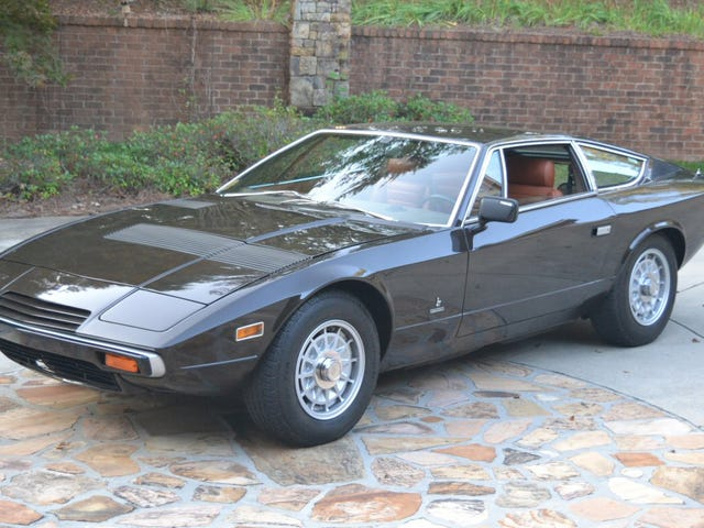 I'm Going To Sell My Soul And Work In PR To Afford This Maserati Khamsin