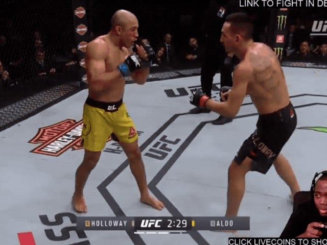 Transmittere fra UFC og Twitch, der giver dig mulighed for at vide mere om copyright