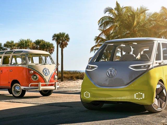 VW Microbus подтвержден для производства (снова) в 2022 году, включая коммерческую версию <em></em>