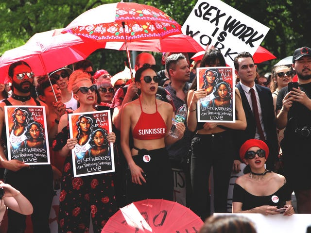 Sex Workers Fight Back Against a Dangerous Law by Stepping Into the Spotlight