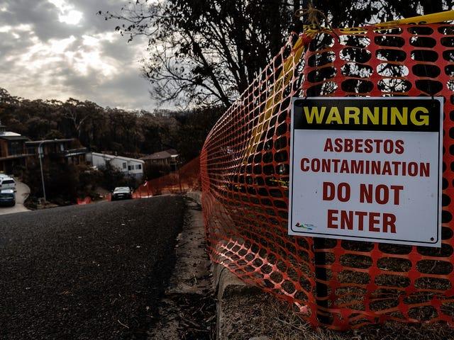 美国环保署未能让学生远离石棉:报告