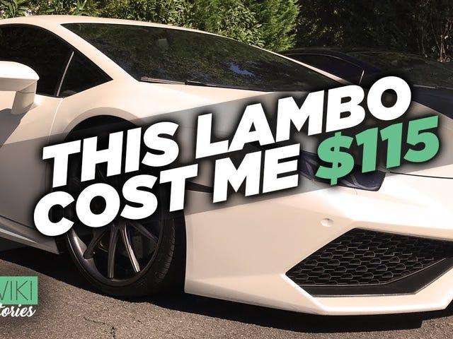 The only Lamborghini that will appreciate in value