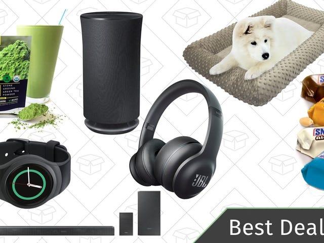 Najlepsze oferty w sobotę: Słuchawki JBL, wielofunkcyjny głośnik Samsung, łóżka dla psów i inne