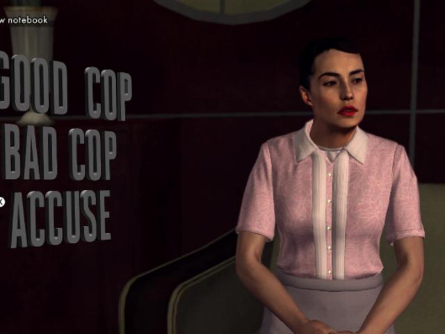 <i>L.A. Noire</i> रीमस्टर की न्यू वार्ता प्रणाली काफी विशिष्ट नहीं है