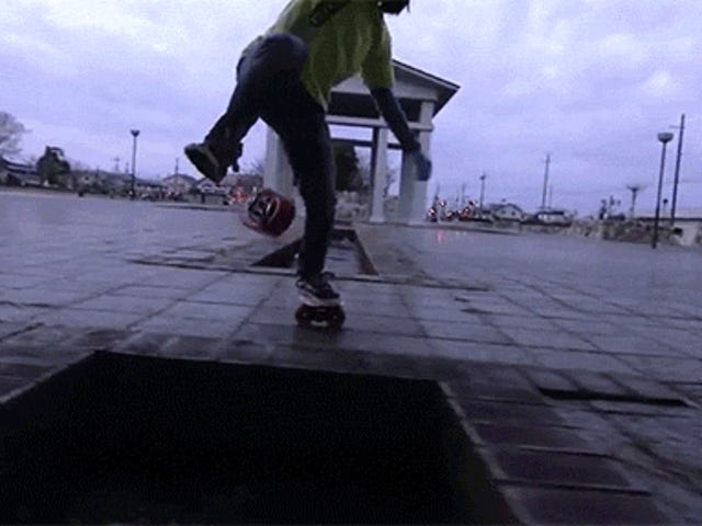 How Is This Kid So Damn Good at Freeline Skating?