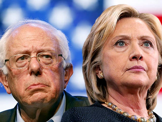 Bernie and Hillary: S*** Just Got Real
