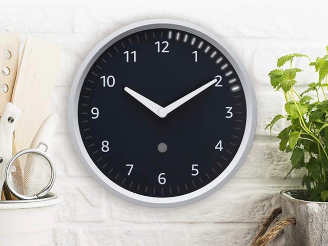 You Can Finally Order Amazon's Clever Echo Wall Clock