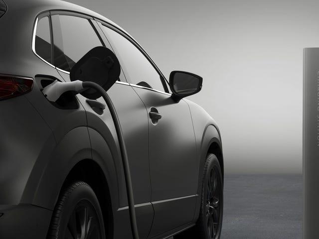 Vi ser Mazdas første elbil næste måned