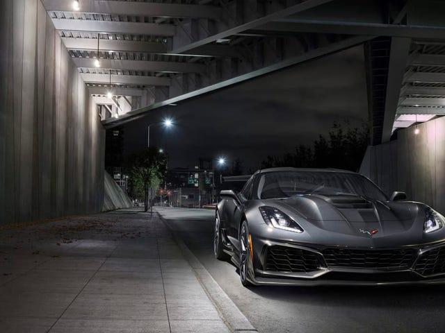 '19 Corvette ZR-1 starts at $120,990