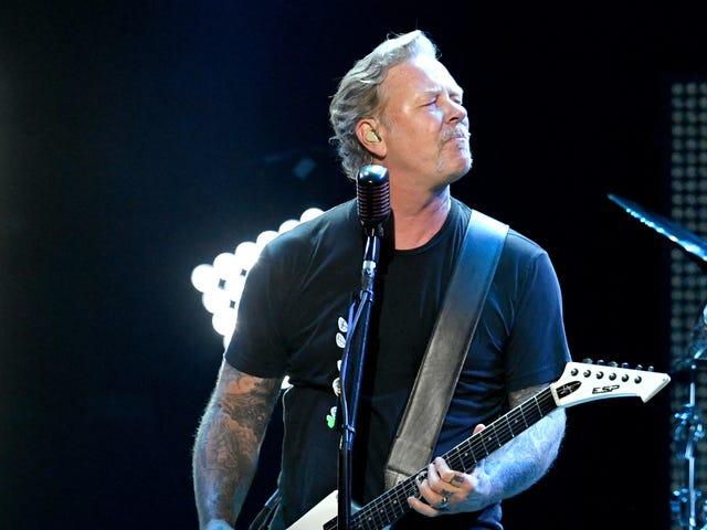Metallica postpones tour so James Hetfield can go back to rehab