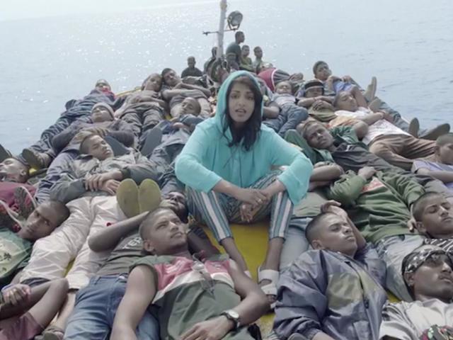 La MIA segue i rifugiati in viaggio in un video impressionante per 'Borders'