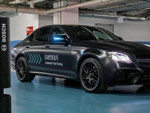This is How Daimler and Bosch's Automated Valet Parking Works