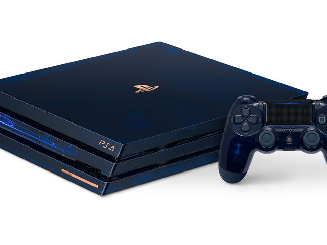 Sony Is Releasing A Gorgeous Translucent PS4 Console