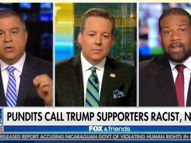 Trump Supporter Tells Black Man He's Out of His 'Cotton-Picking Mind' During Appearance on Fox & Friends