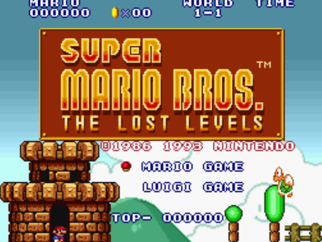 Warped Pipes: Let's Get Weird With Super Mario Bros. -The Lost Levels