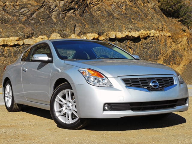 Is the Nissan Altima Coupe the Most Unmemorable Car?