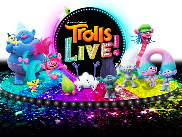 Ever wished for a Trolls Live? Too bad, you're getting one