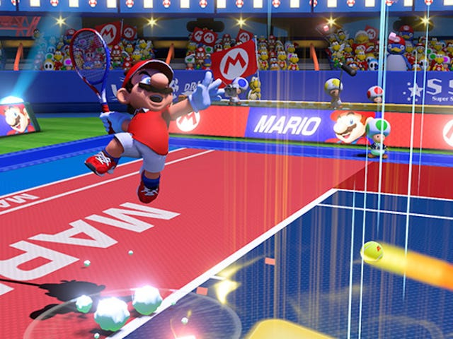 Mario TennisOn Switch Is Mostly Fun (But Frustrating)