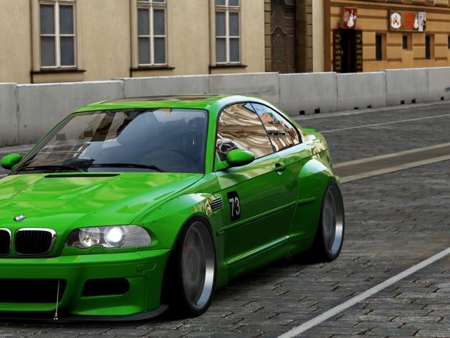 BMW E46 M3.