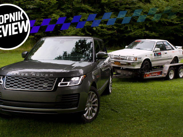 Towing With a $100,000 Range Rover Diesel Is the Best Way to Throw Money at a Problem