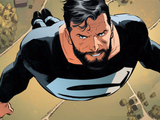The DC/CW-Verse's Superman Is Getting His Own Black Suit