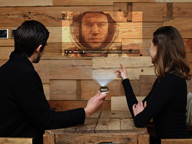 This Watch That Projects Movies Is Just Plain Crazy