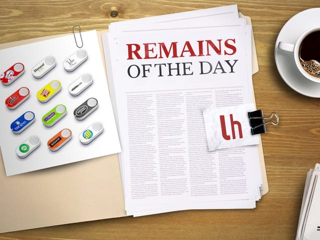 Remains of the Day: Amazon to Add Dash Functionality to More Smart Home Devices