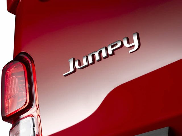 There Is A Van Called The Citroen Jumpy