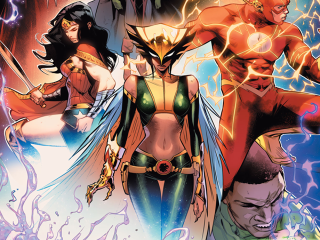 Hawkgirl and John Stewart Are Joining the New Justice League Lineup