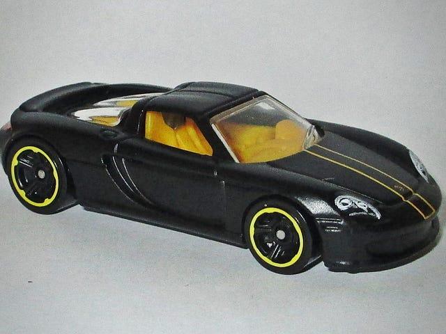 블랙 포르쉐 카레라 GT