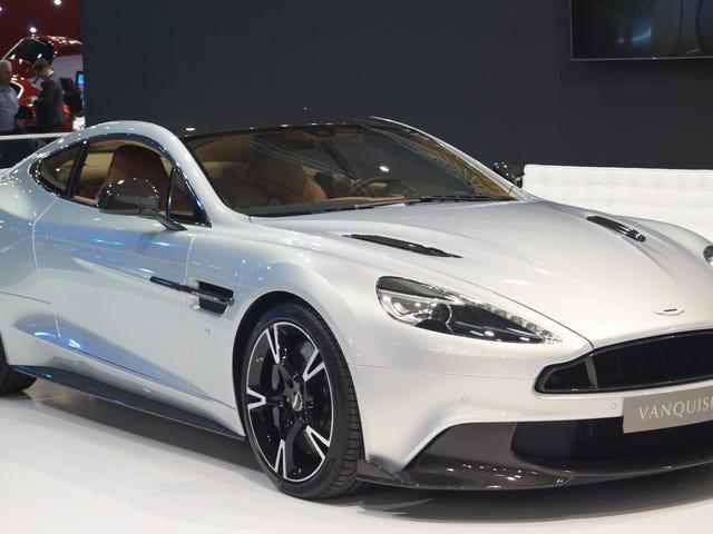 Quelqu'un doit acheter la chaîne de montage Aston Martin Vanquish avant moi