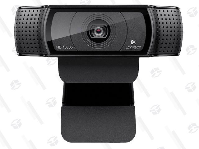 Step Up Your Skype Game With This Discounted Logitech Webcam