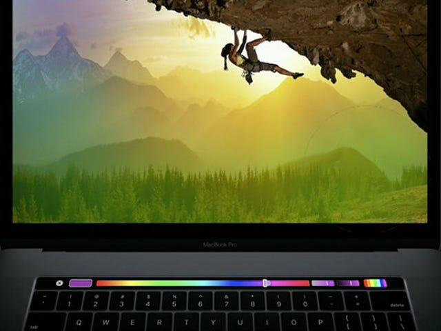 Por qué el panel del nuevo MacBook Pro es más útil que la pantalla táctil de cualquier computadora portátil