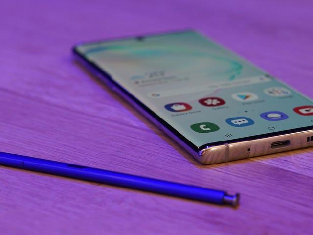 Samsung forklarer, hvorfor de dræbte hovedtelefonporten på Galaxy Note 10
