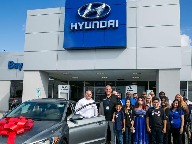 Jälleenmyyjä tunkeutuu, joten Hyundai yrittää korjata sen
