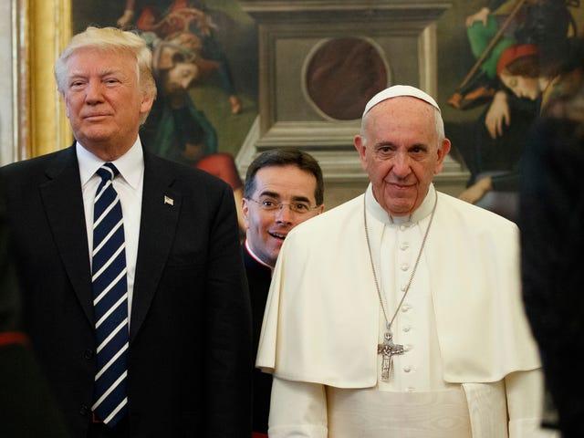 El Papa Francisco le dio un regalo muy especial a Trump: un ensuite de 38 mil palabras sobre el cambio climático
